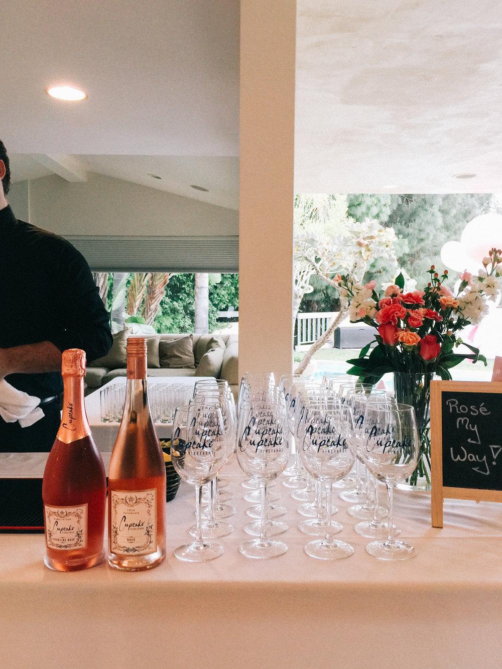Rosé bar setup | A Fabulous Fete
