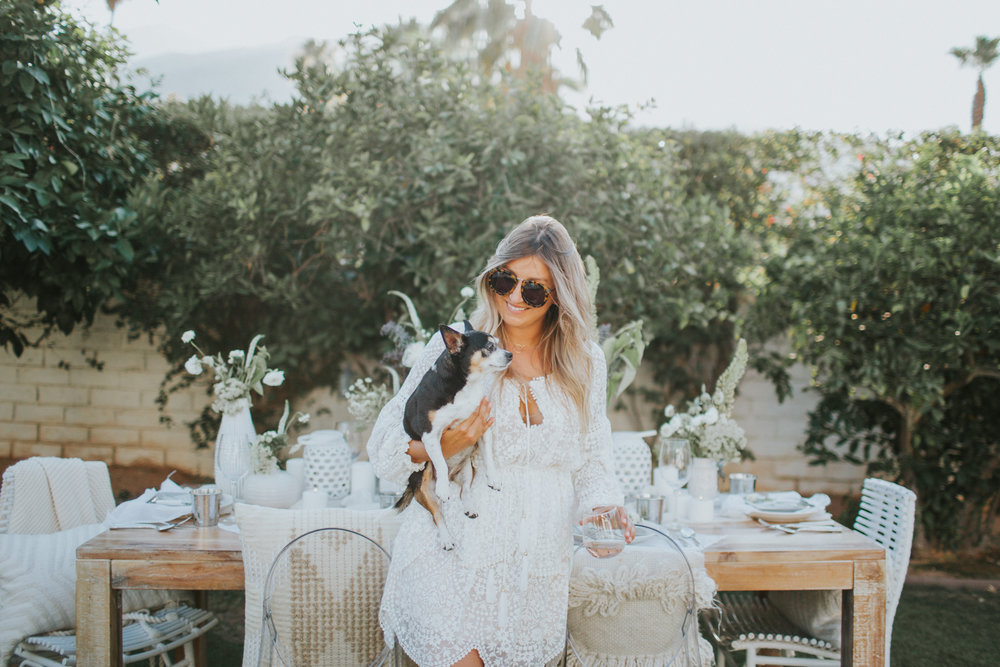 Backyard party with the pups | A Fabulous Fete