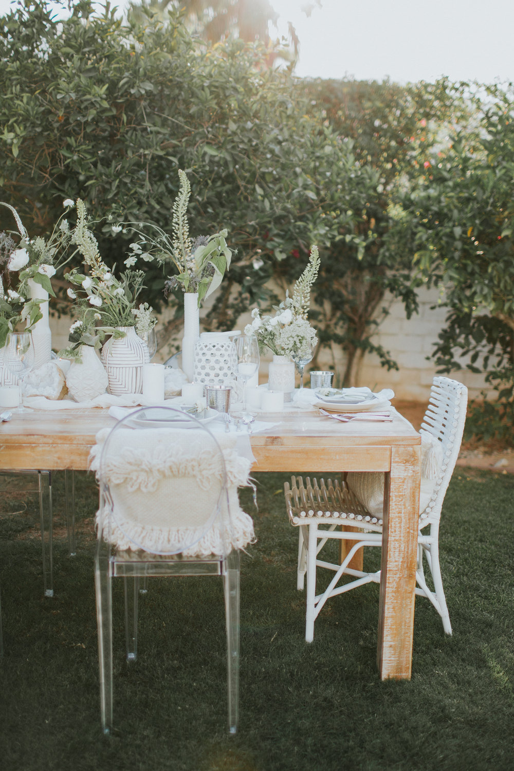 Bring the indoors out to celebrate the beginning of summer | A Fabulous Fete