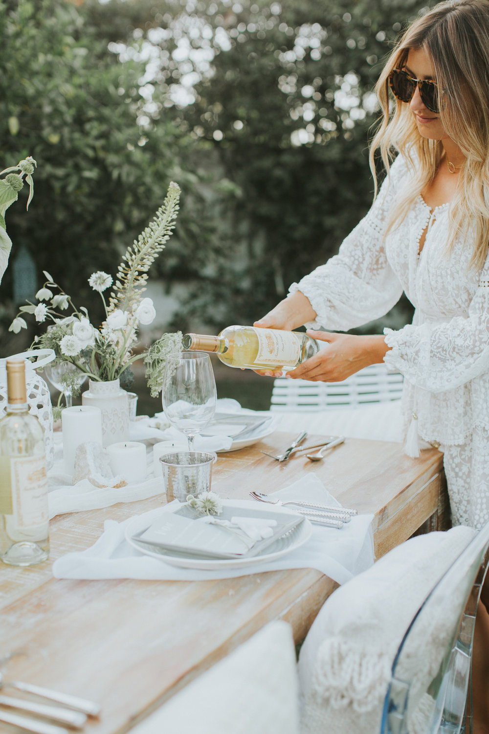 Outdoor summer hosting | A Fabulous Fete