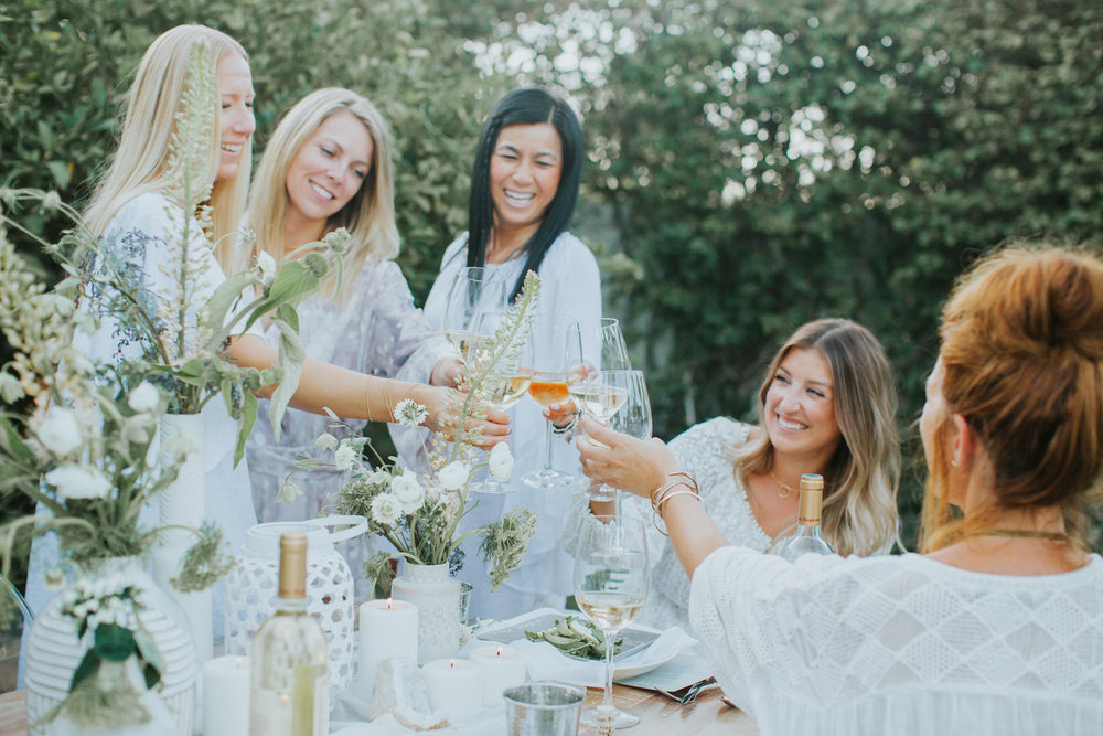 get your girls together for an outdoor get together | A Fabulous Fete