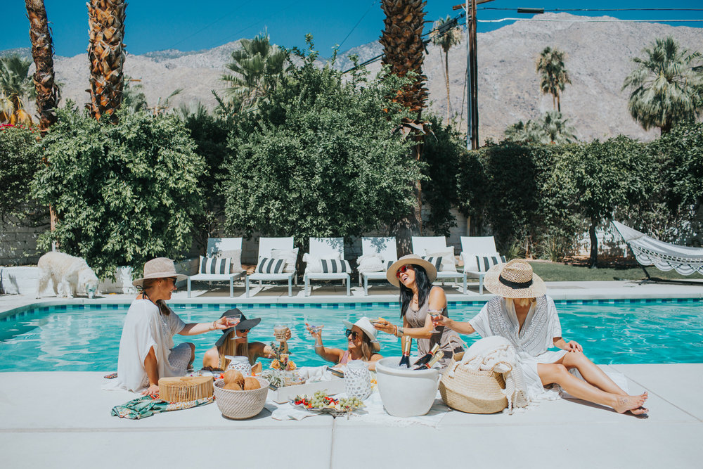 Girls day at the pool | A Fabulous Fete