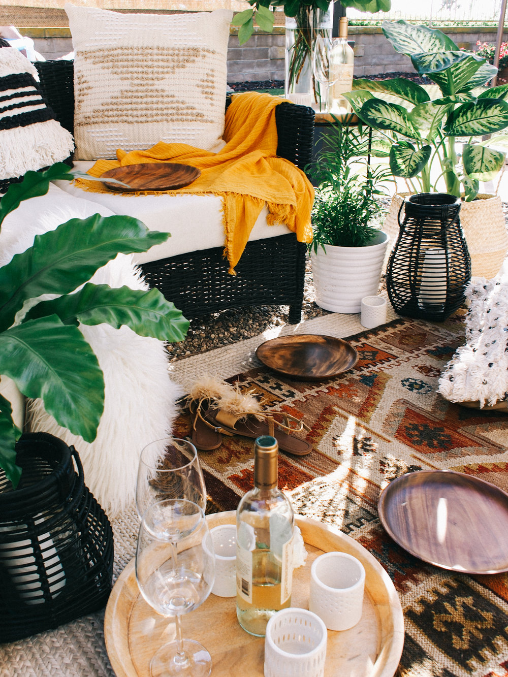 Outdoor decorating ideas for summer | A Fabulous Fete