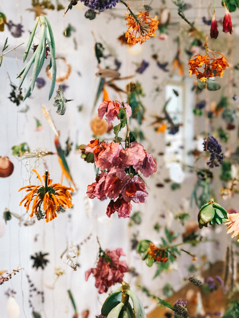 Rebecca Louise Law flower installation | A Fabulous Fete