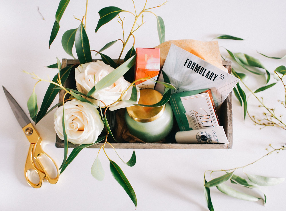 How I put together these gift boxes in a few simple steps, on the blog | A Fabulous Fete