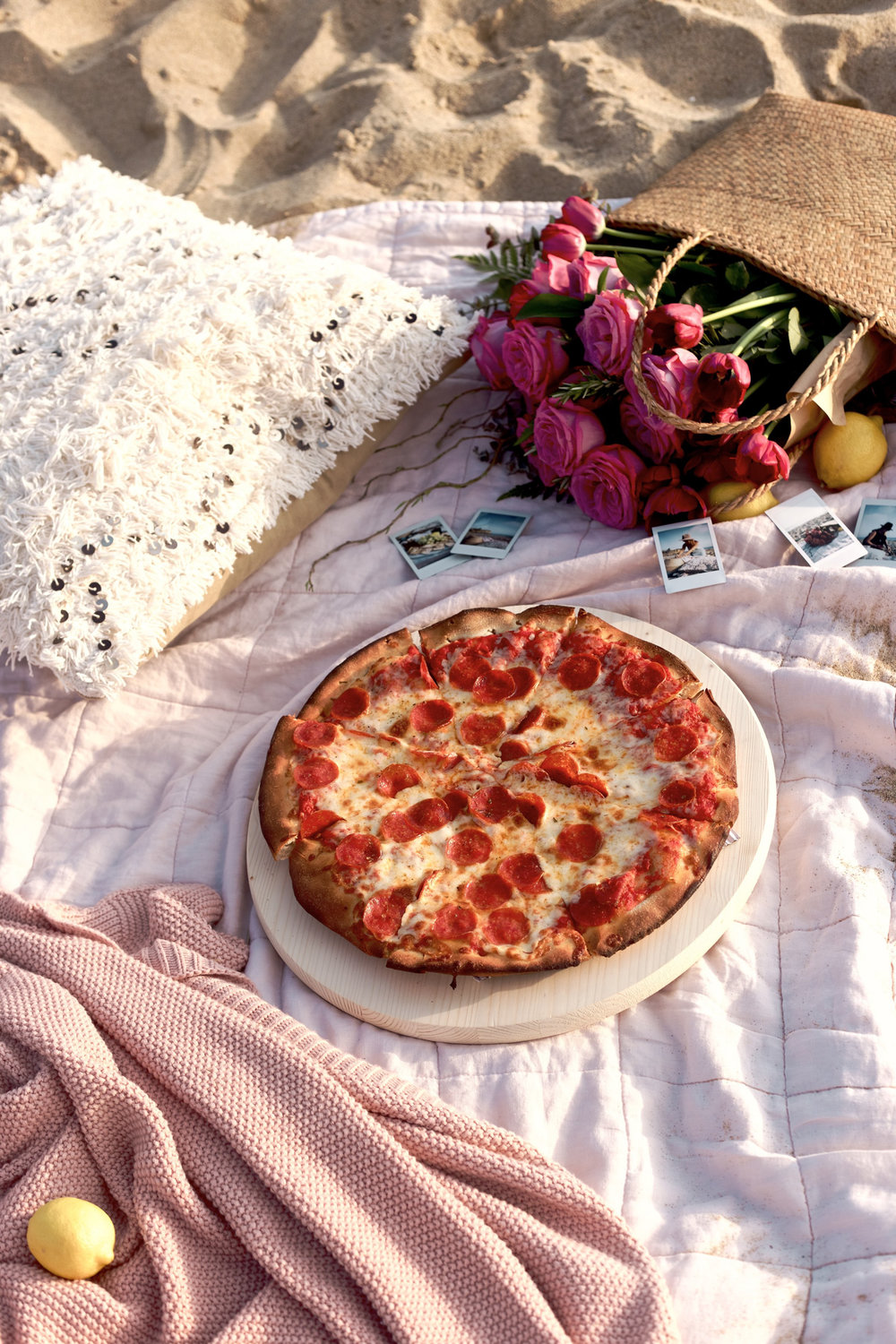 the easiest way to do a picnic... pizza | A Fabulous Fete