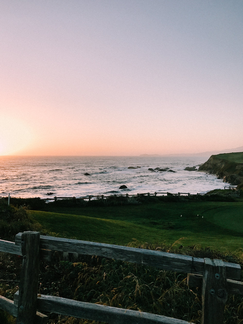 Sunset in Half Moon Bay | A Fabulous Fete