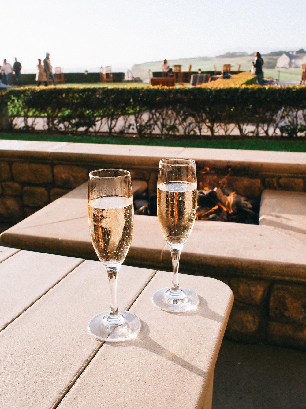 Champagne fireside | A Fabulous Fete