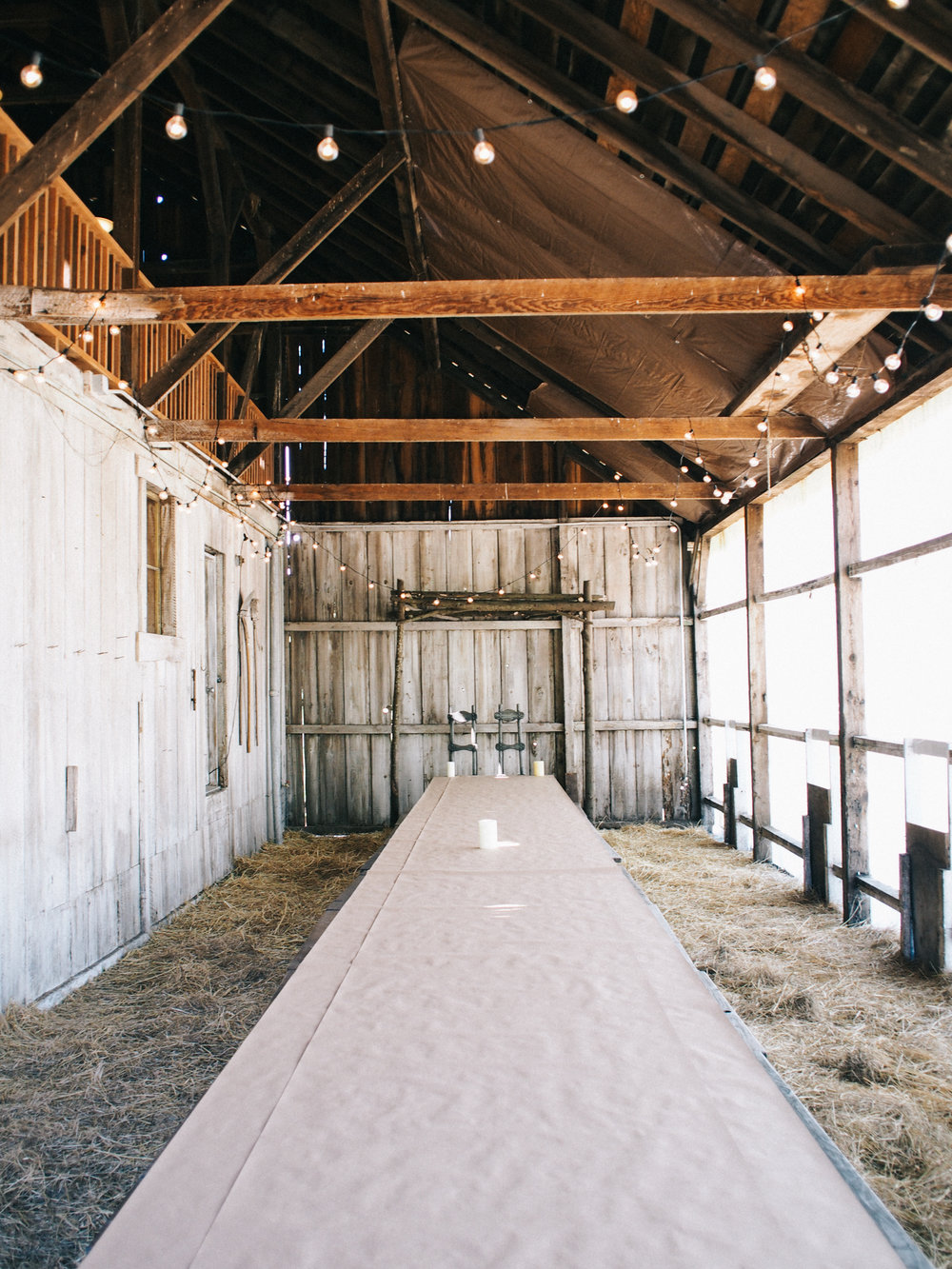 Rustic wedding reception venue | A Fabulous Fete