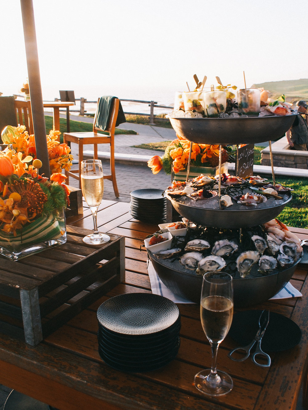 Happy hour at The Ritz Carlton, Half Moon Bay | A Fabulous Fete