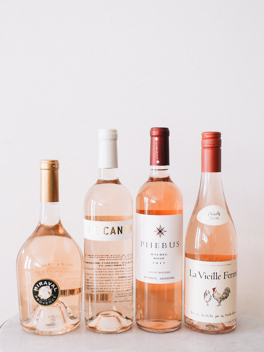Ranging from $6 to $20, see which rosé was our fav and why! | A Fabulous Fete