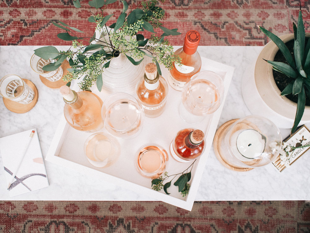Our rosé tasting at home, see what brands we bought and what we loved | A Fabulous Fete