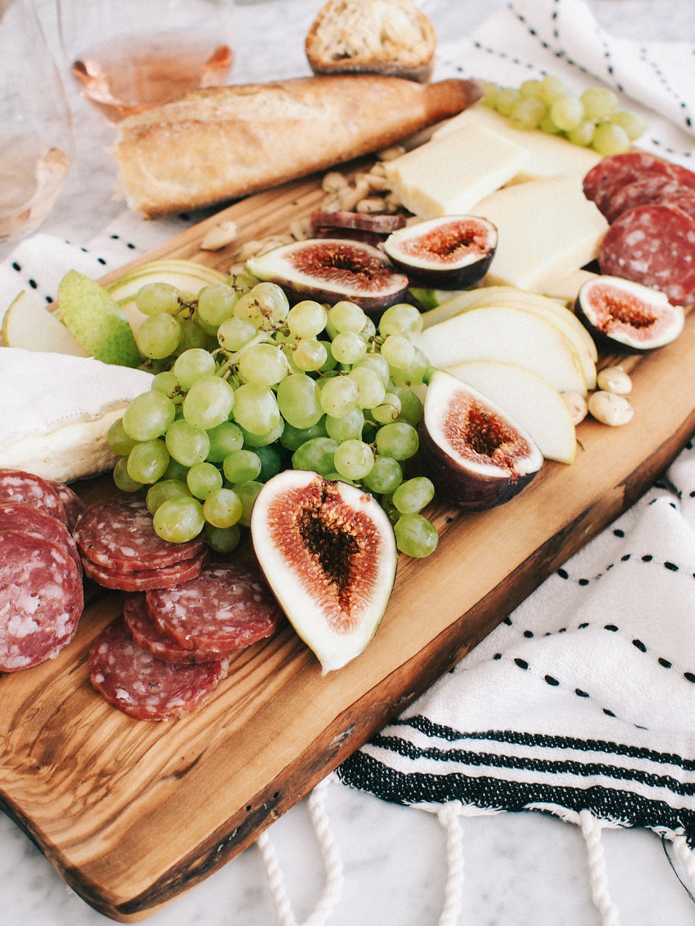 Sunday funday cheese plate at home | A Fabulous Fete