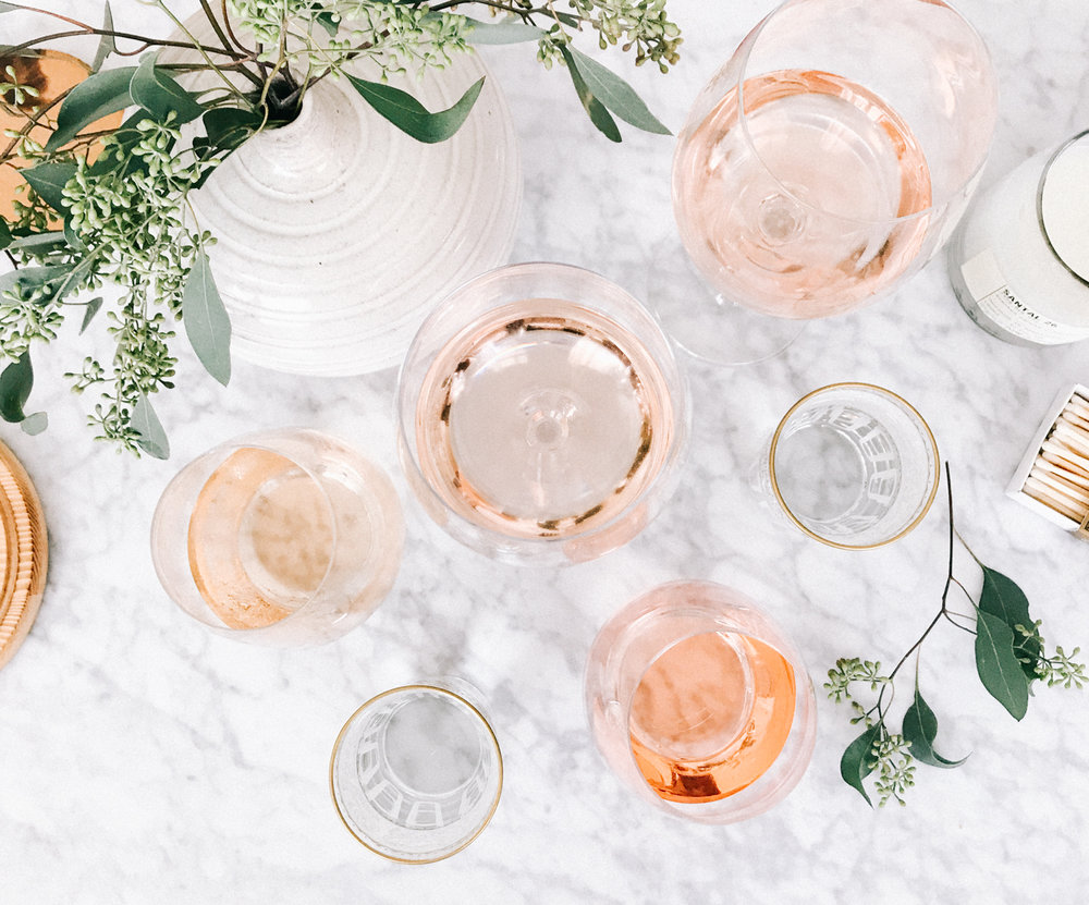 Summer might be over, but that doesn't mean we have to put the rosé away. See our fav's on the blog | A Fabulous Fete