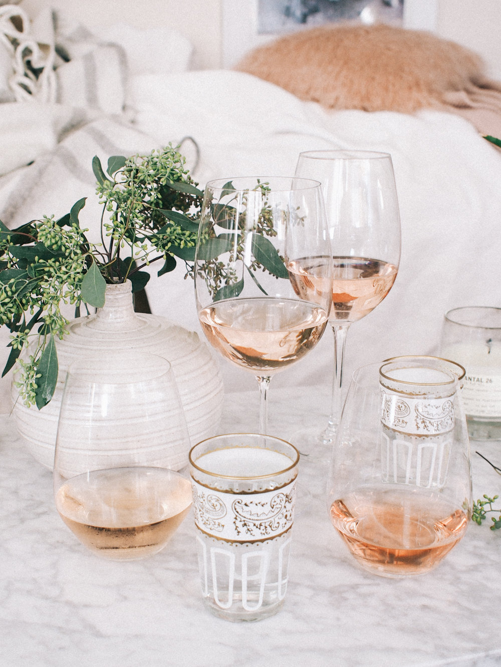 What I Tried This Weekend: An at home Rosé tasting | A Fabulous Fete