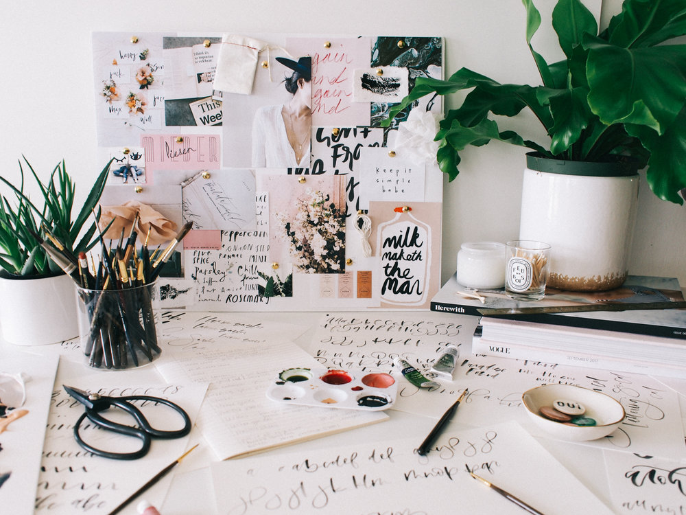 My process for creating a hand lettering guide | A Fabulous Fete
