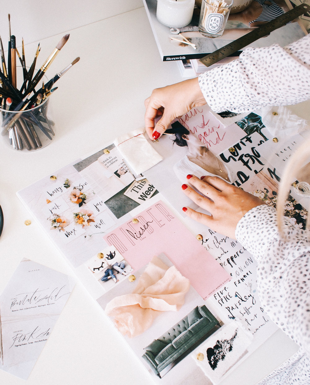How to begin every project... moodboards | A Fabulous Fete
