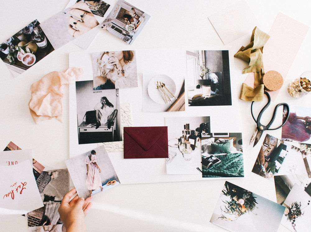 How to create a moodboard to brainstorm for new projects | A Fabulous Fete