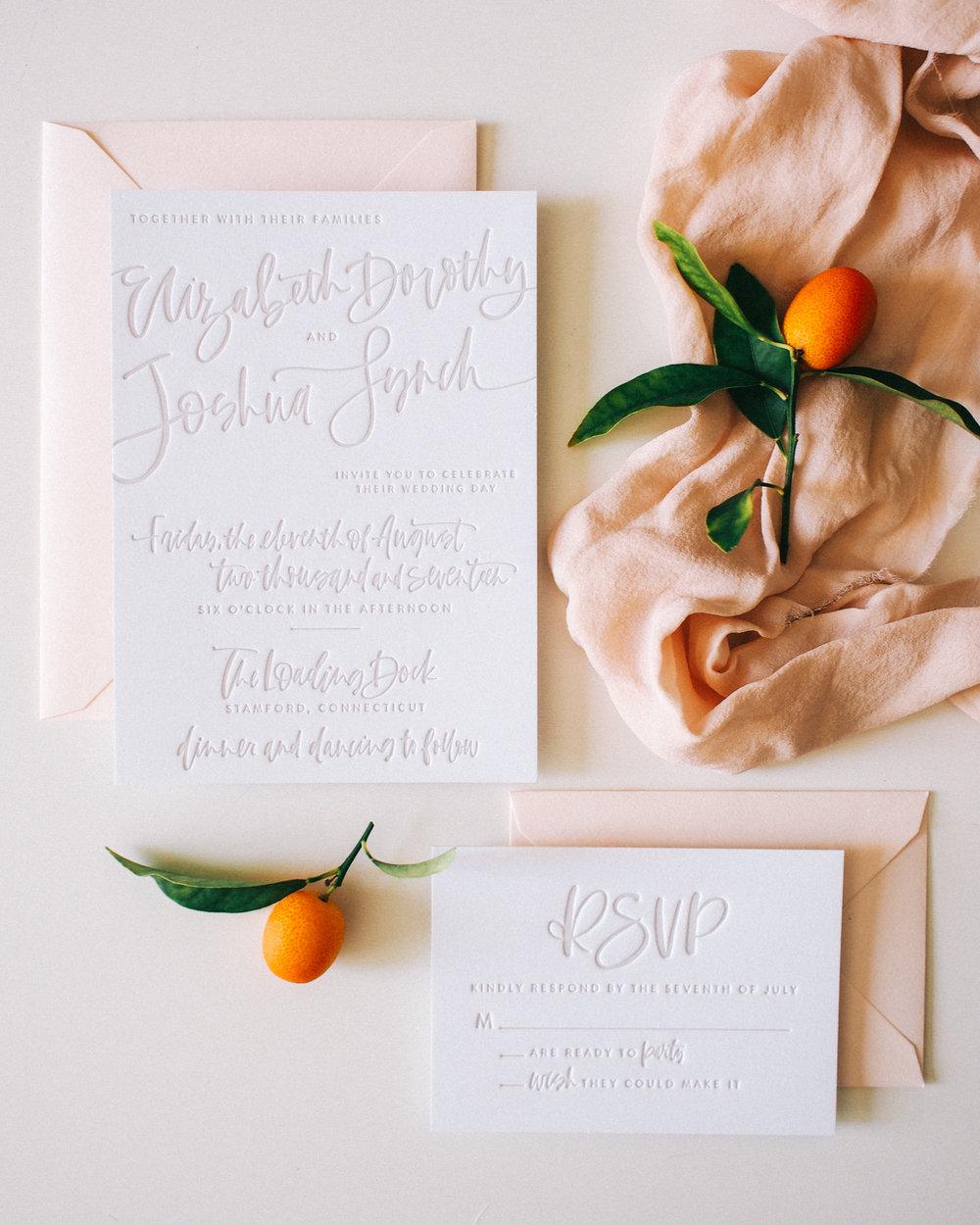 Letterpress Suite | A Fabulous Fete