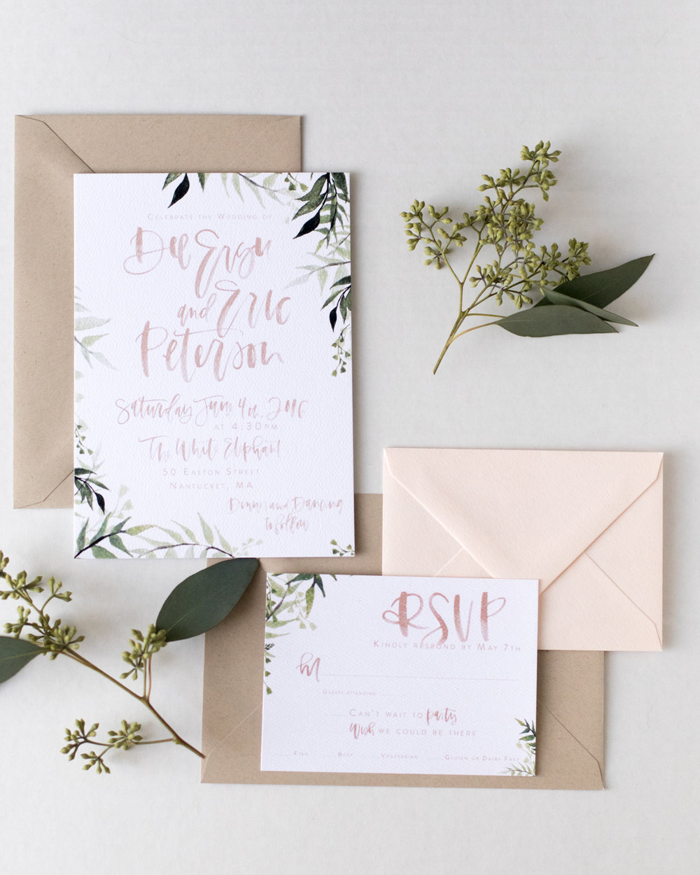 Dee's Blush + Olive Suite