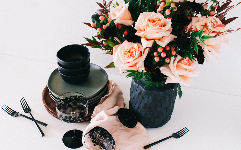 How to create a simple fall flower arrangement | A Fabulous Fete