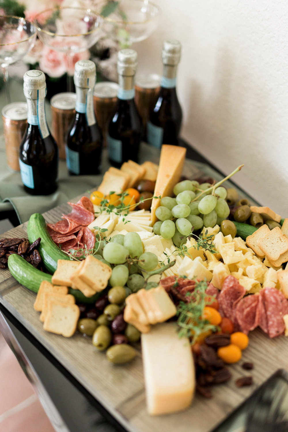 Cocktail party cheese plate ideas | A Fabulous Fete
