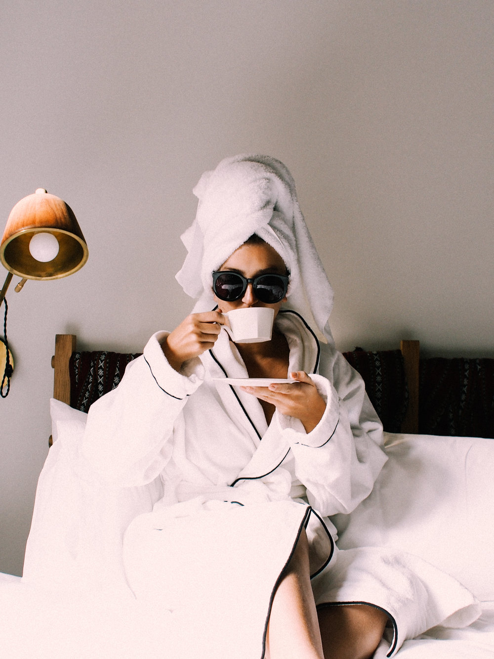 Taking advantage of no plans and hotel robes in New York | A Fabulous Fete
