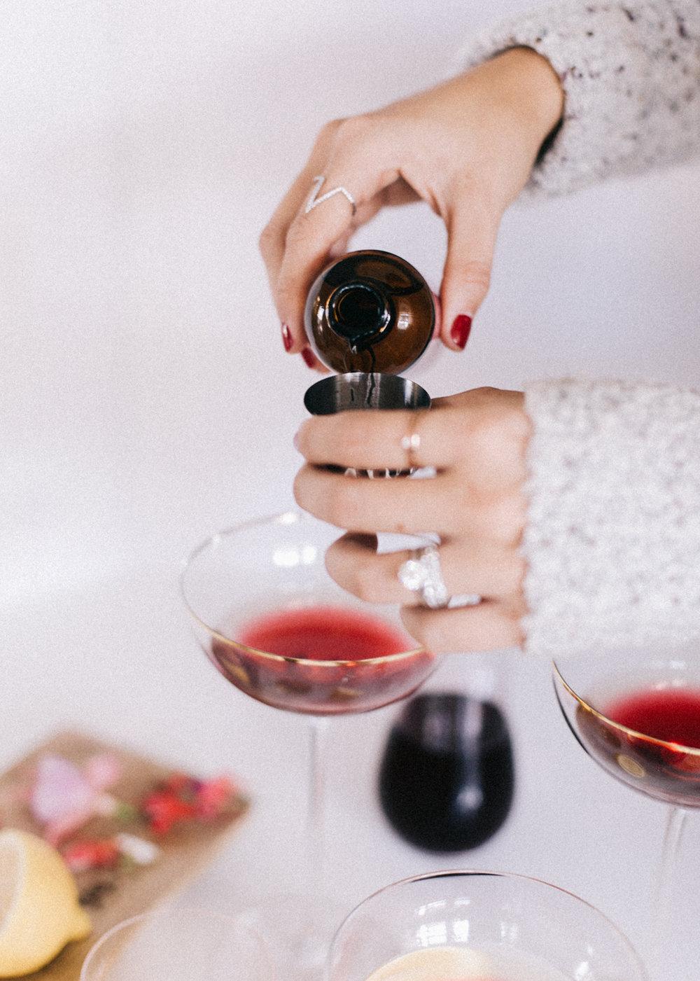 Lavender Rosewater Cocktail | A Fabulous Fete