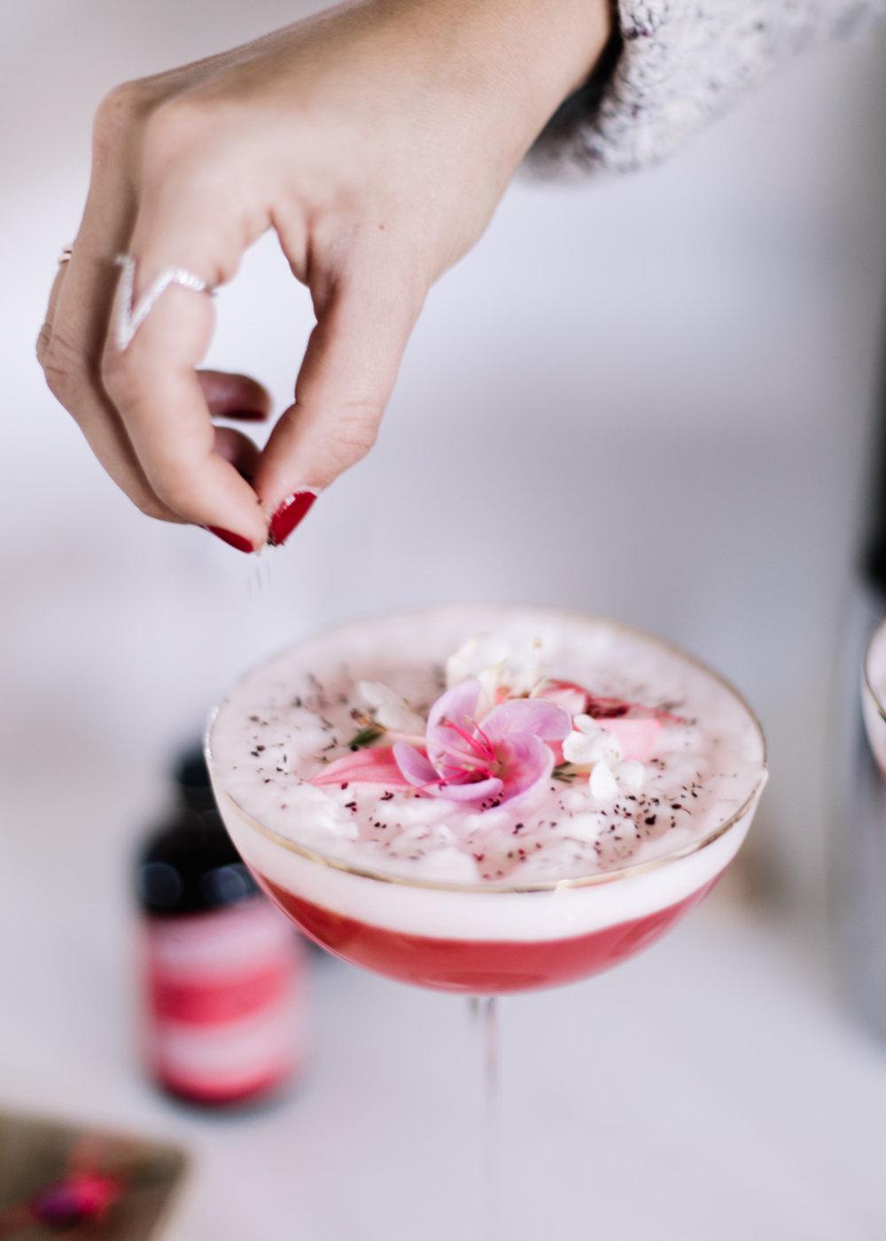 February Floral Spritzer | A Fabulous Fete