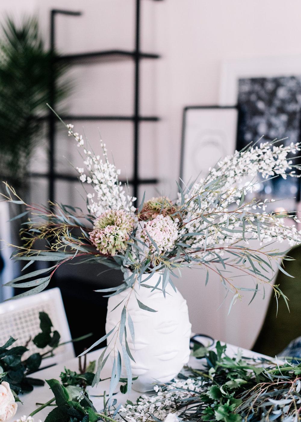 DIY Flower Arrangement   A Fabulous Fete