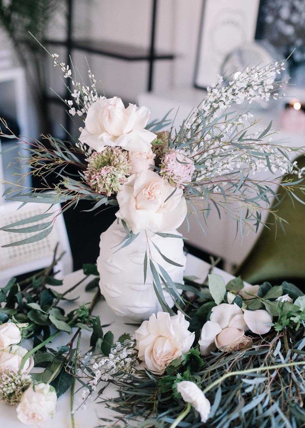 Easy Floral Arrangement | A Fabulous Fete