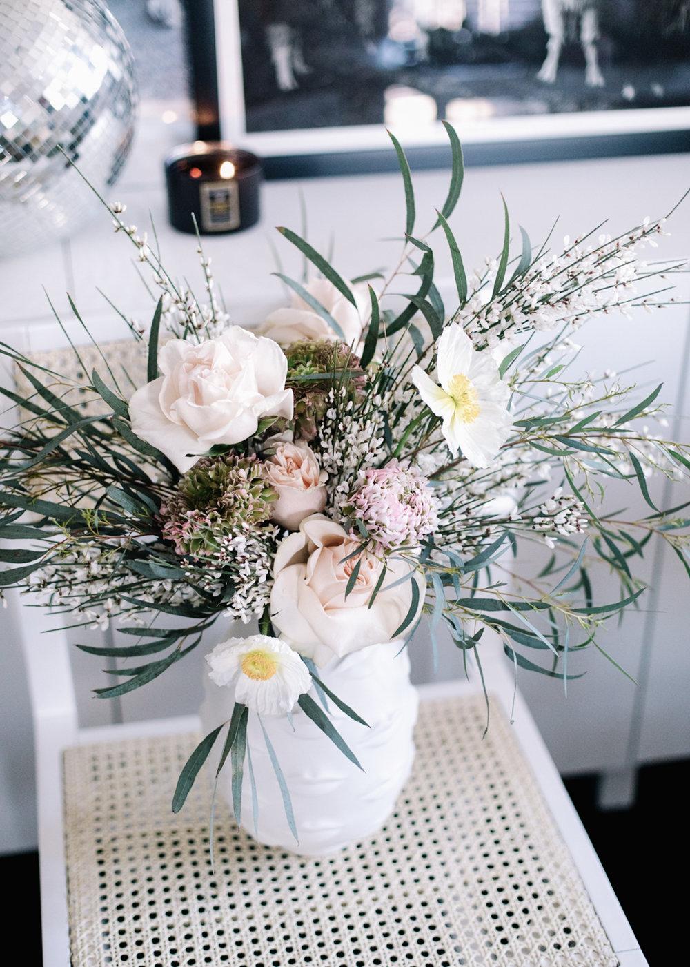 February Floral Arrangement | A Fabulous Fete