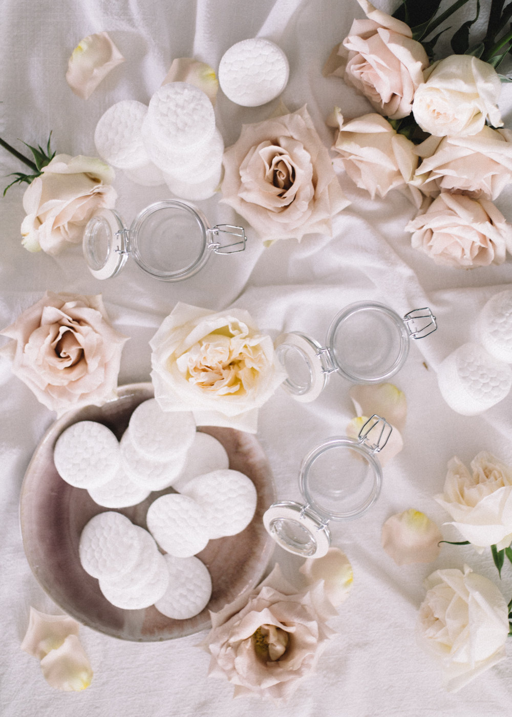 Rose Witch Hazel Beauty Pads | A Fabulous Fete