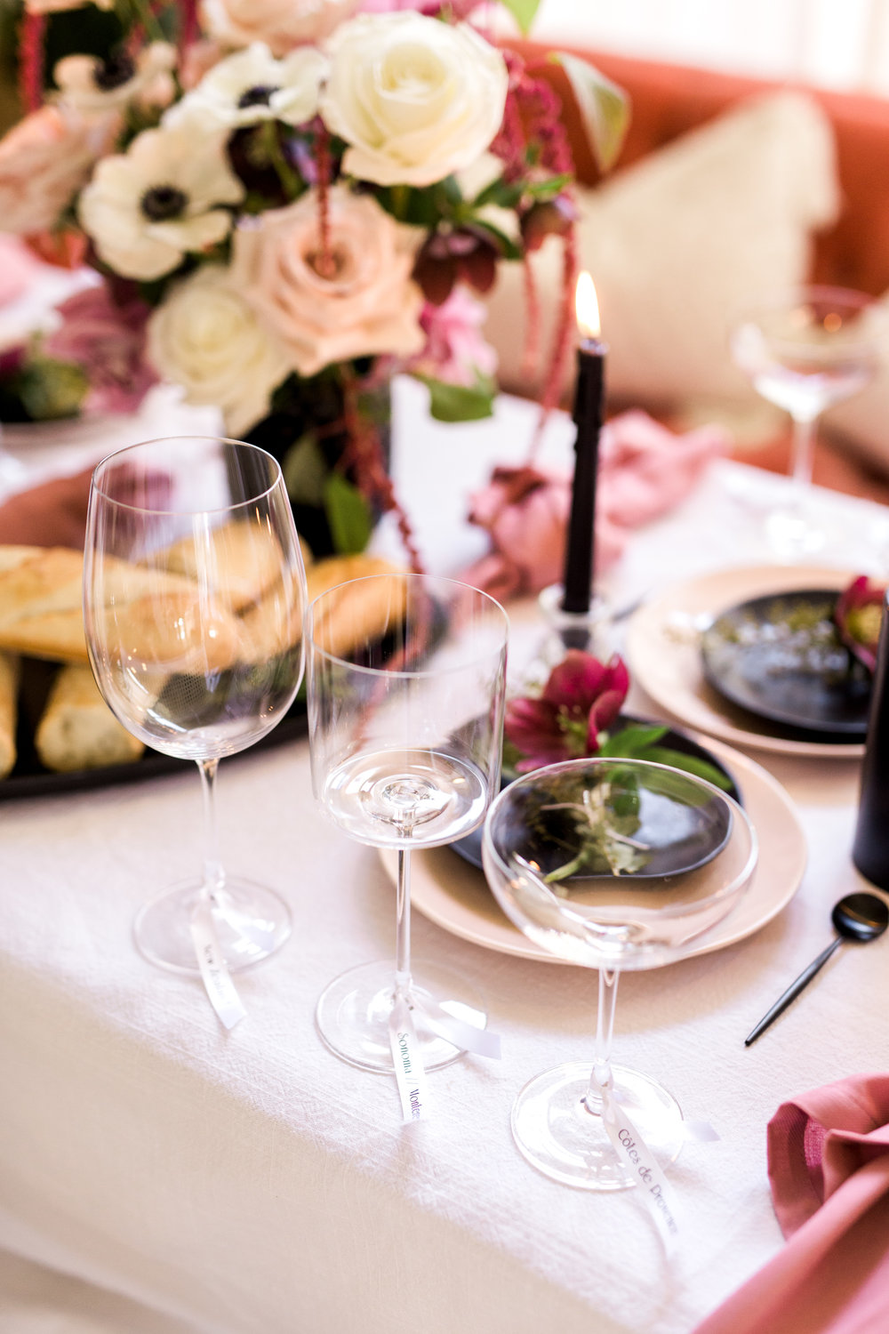 At-Home Rose Tasting | A Fabulous Fete