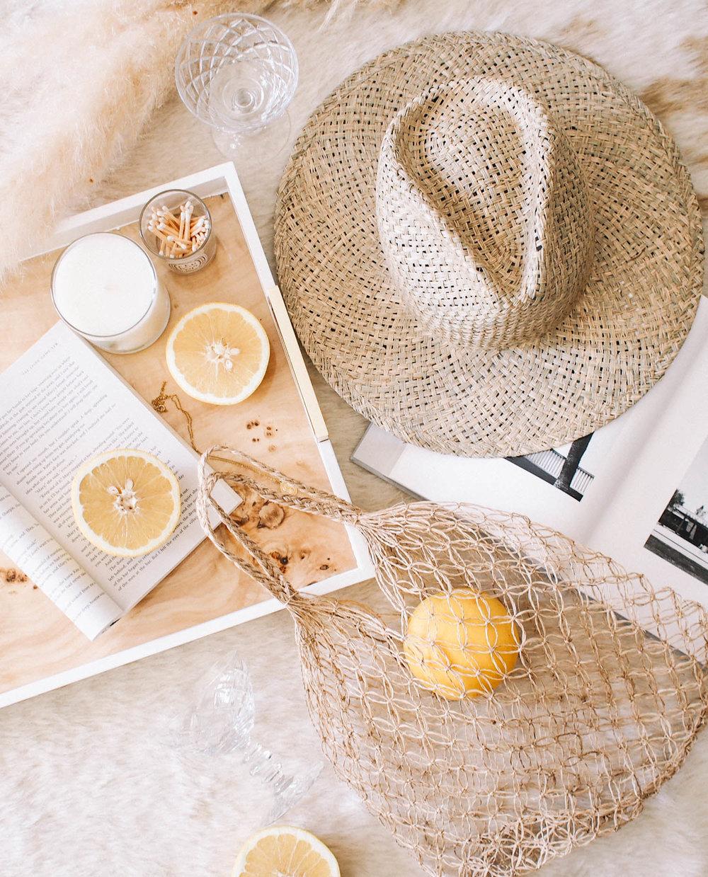 Straw Hat | A Fabulous Fete