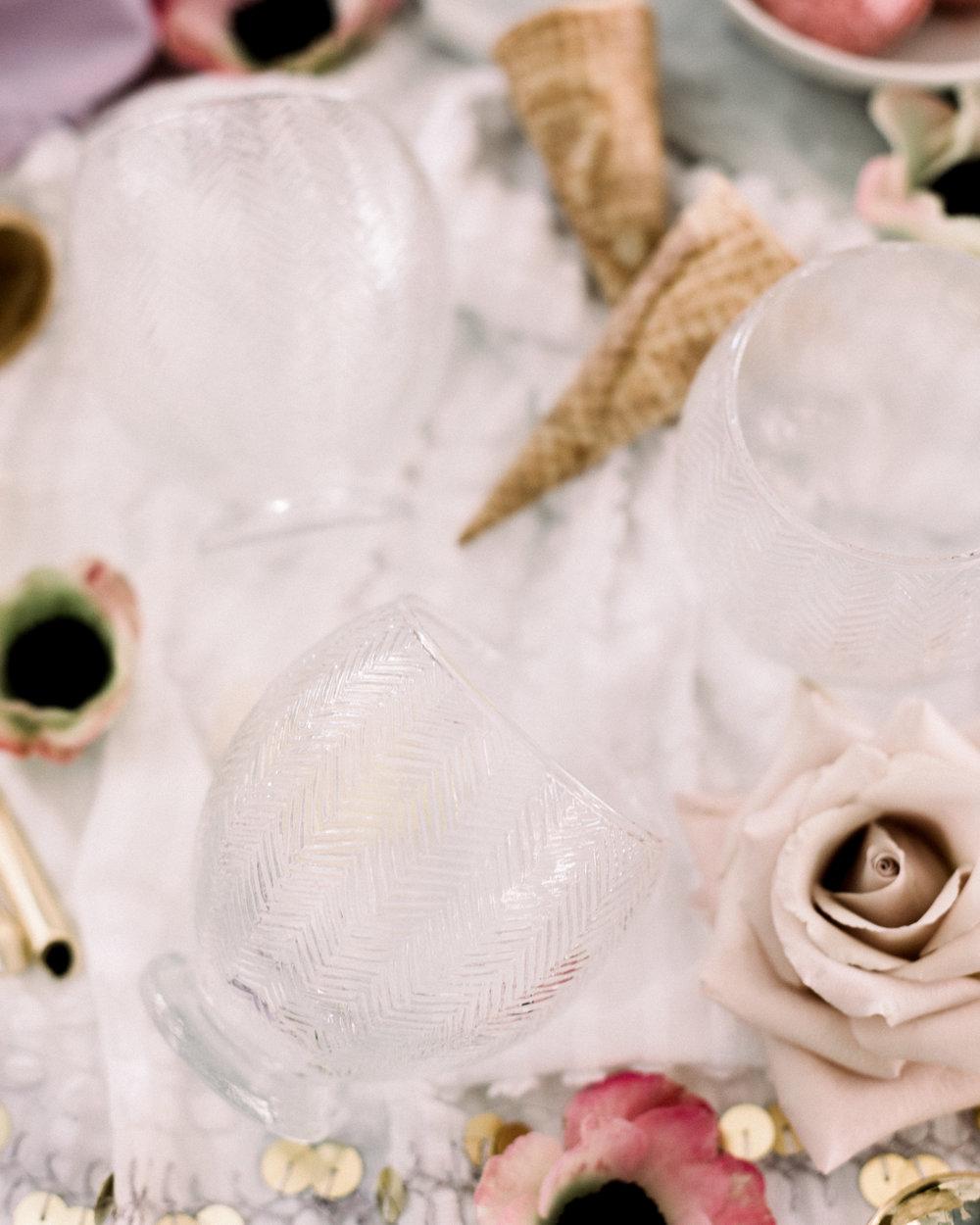 Sorbet Champagne Bowls | A Fabulous Fete