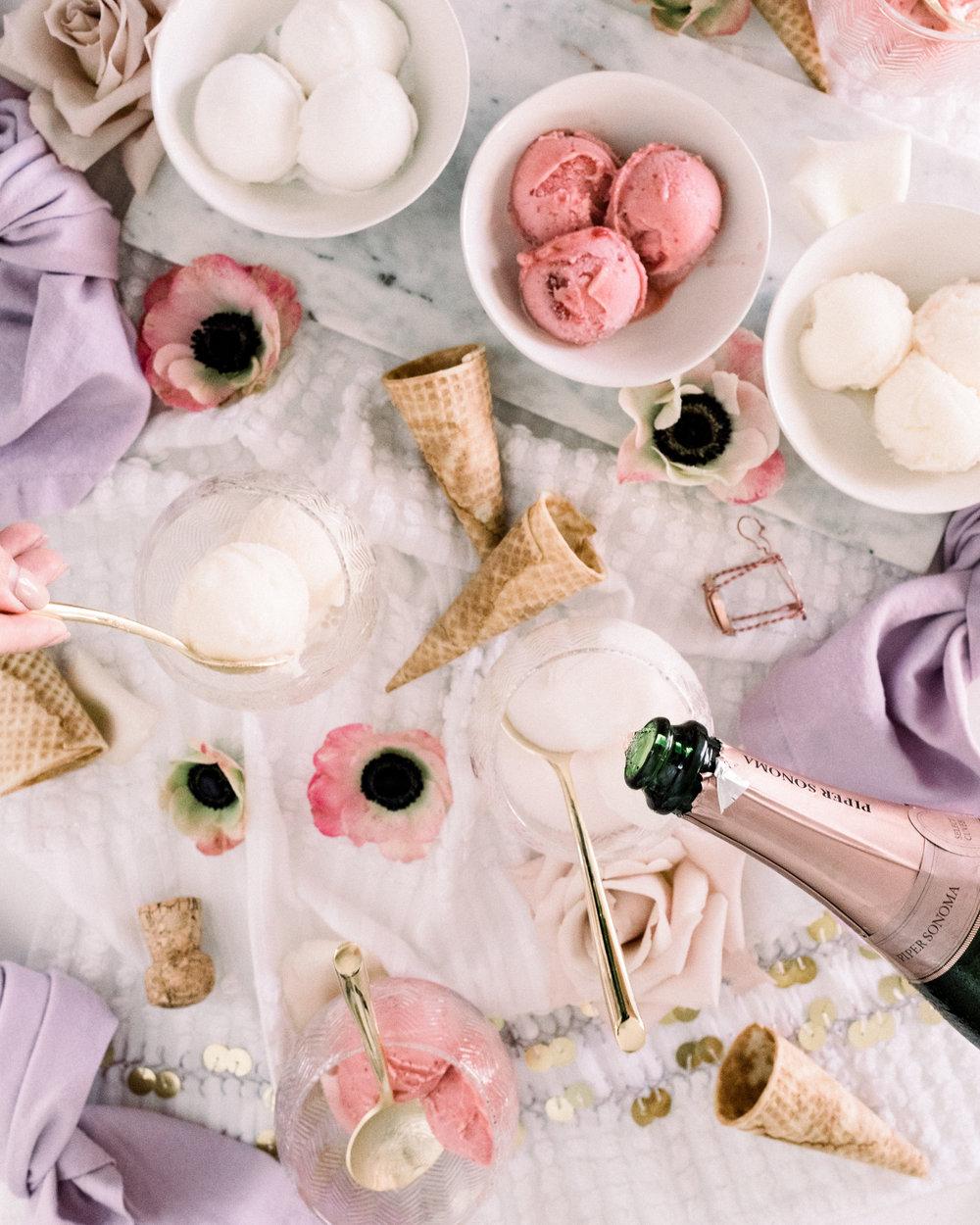 Sorbet Dessert Bowls | A Fabulous Fete