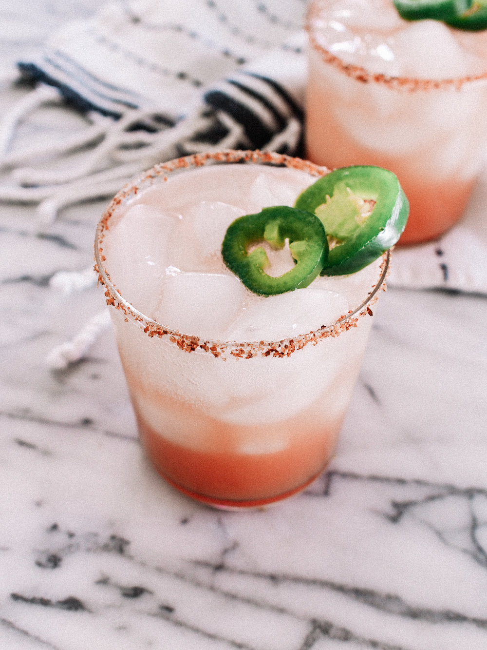 Spicy watermelon jalapeno margarita | A Fabulous Fete
