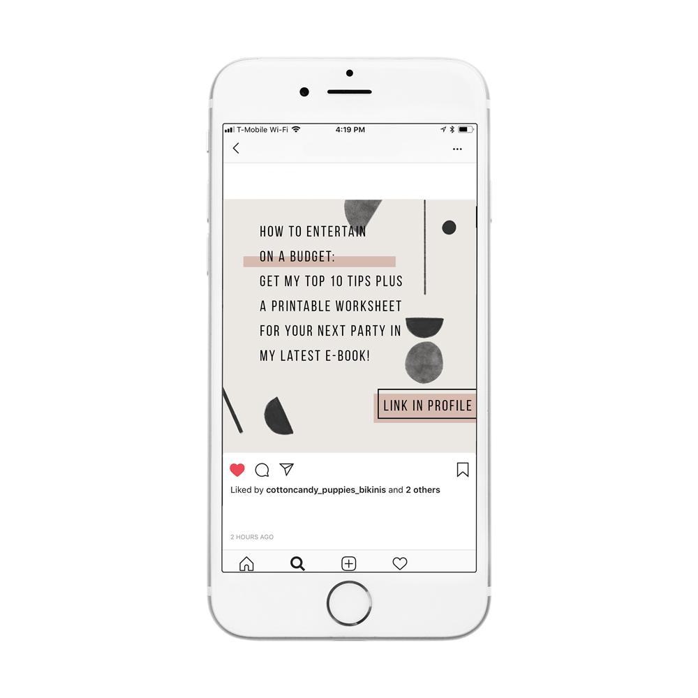 social media templates | A Fabulous Fete