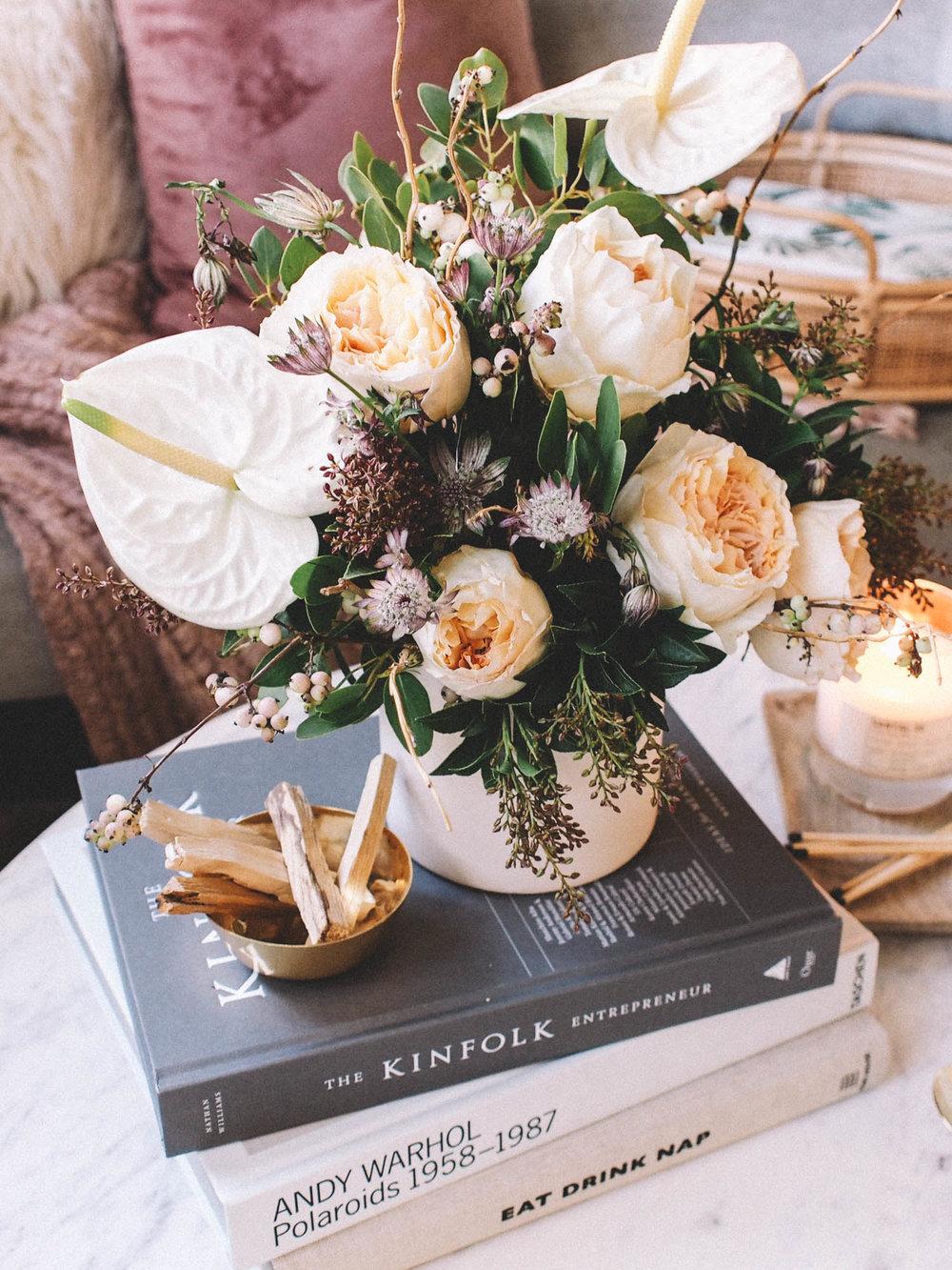 Floral Arrangement for a Coffee Table  | A Fabulous Fete