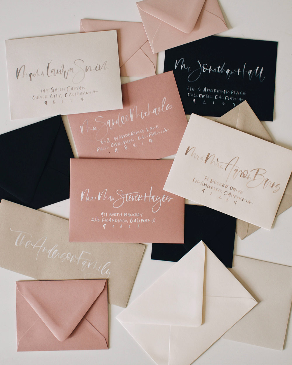 How to address your holiday cards | A Fabulous Fete