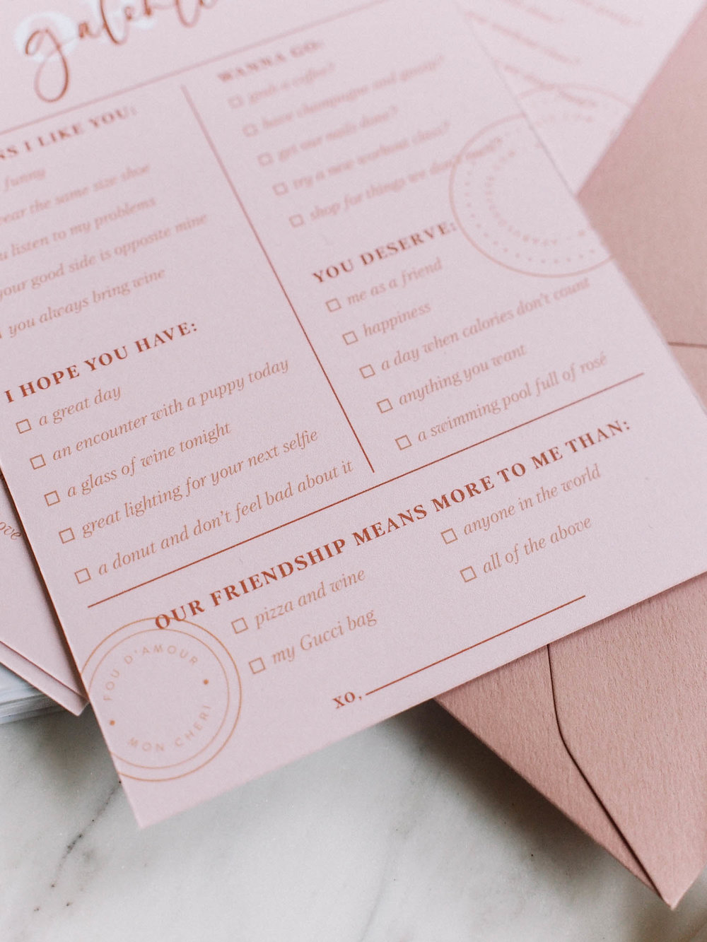 Free Valentines for your Galentines | A Fabulous Fete