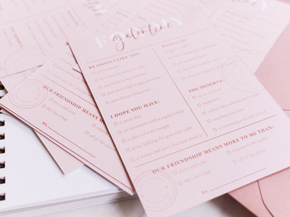Galentine Printable for Valentine's Day | A Fabulous Fete