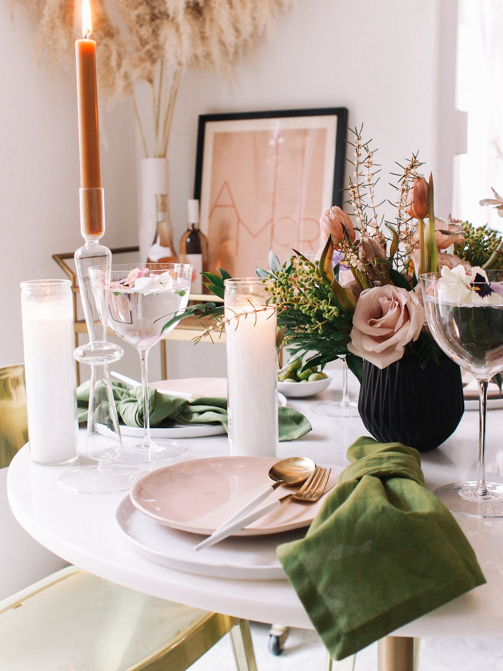 How to make the perfect spring tablescape | A Fabulous Fete