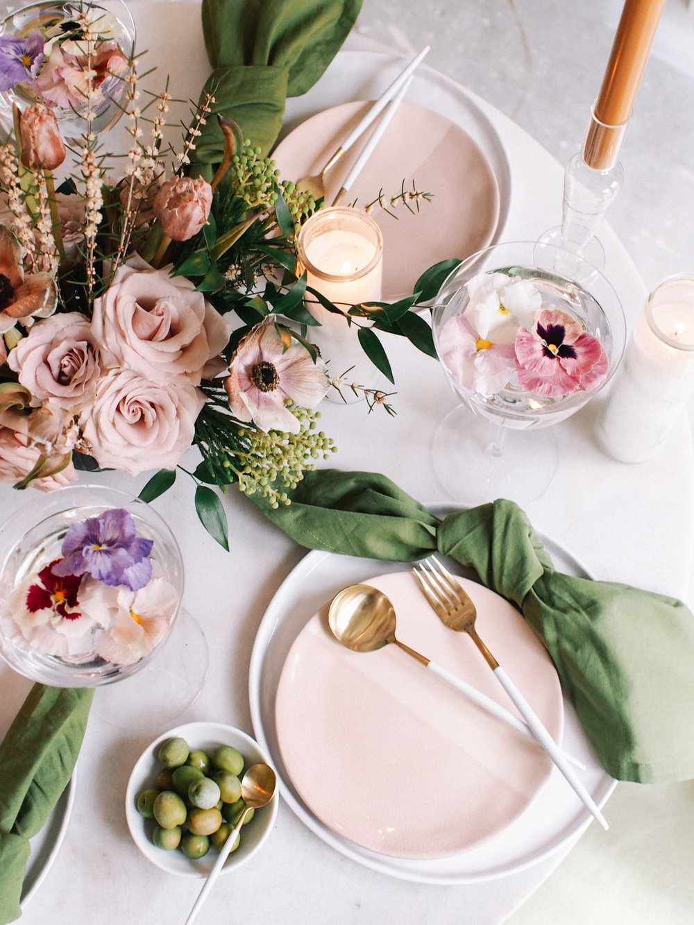How to set the perfect spring table | A Fabulous Fete