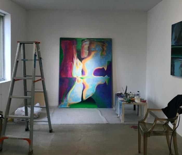 Summer Residency at Fingerprint Gallery, July 2018