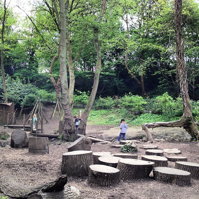 The Igtham Mote Adventure Playground is particularly enchanting. Simple in it's concept but endless entertainment. My kids particularly loved the bridge over the stream. #nationaltrust #ighthammote #advetureplayground
