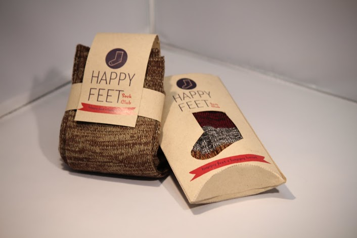 """Happy Feet"" Packaging + Brand Concept"