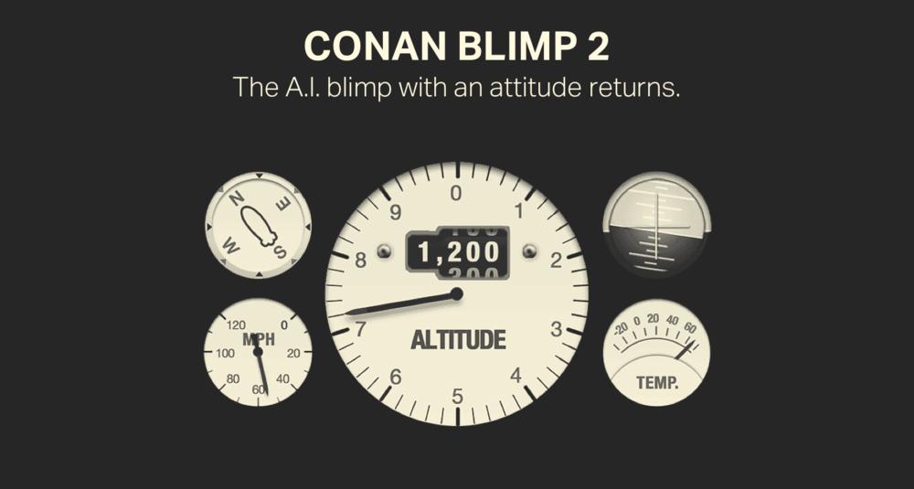 Conan Blimp 2