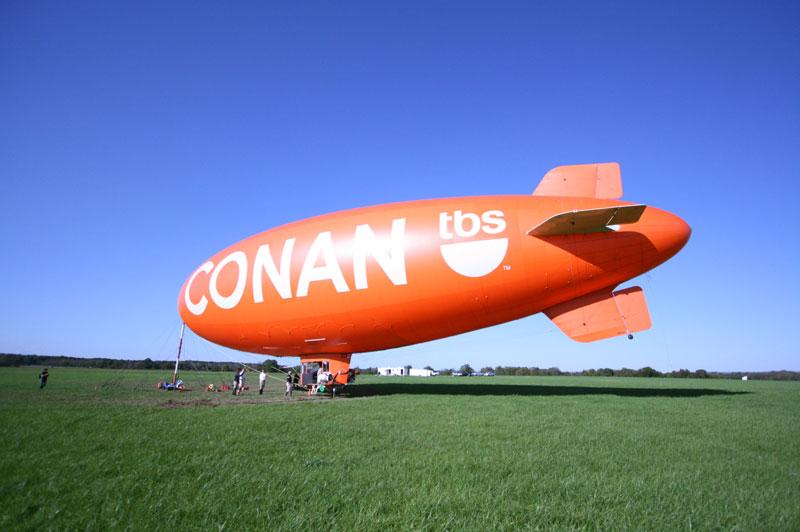 TBS Conan Blimp
